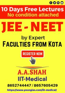 Free Lecture For IIT JEE NEET at A A Shah Mumbai
